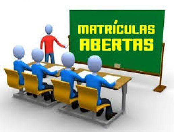 MATRÍCULAS ABERTAS